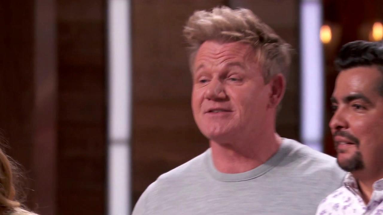 Masterchef: Gordon Thinks He Can Whip Something Up