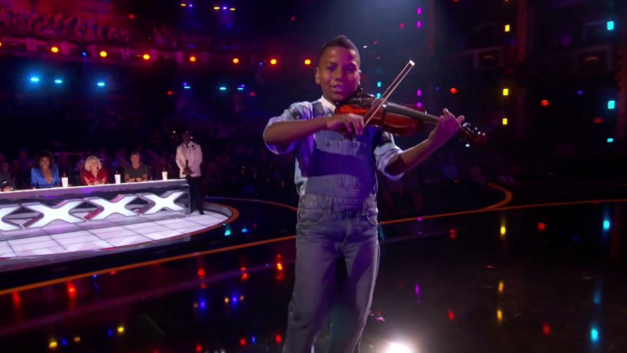 America's Got Talent: 11-Year-Old Tyler Butler-Figueroa Wows With Don't You Worry Child