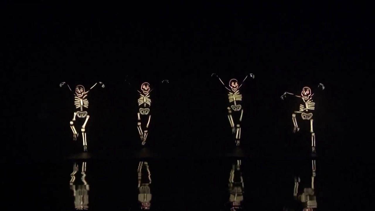America's Got Talent: Light Balance Kids Performs Electrifying Skeleton Dance