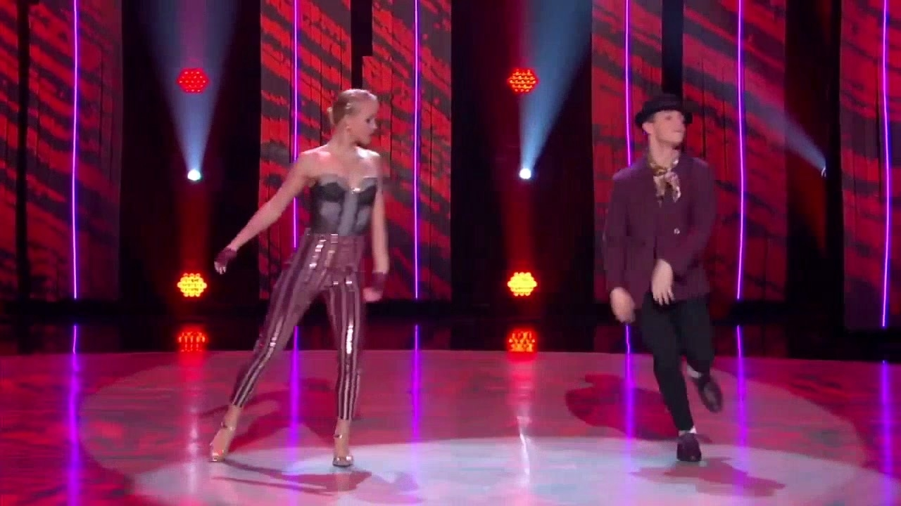 So You Think You Can Dance: Sophie & Gino Perform To Trouble