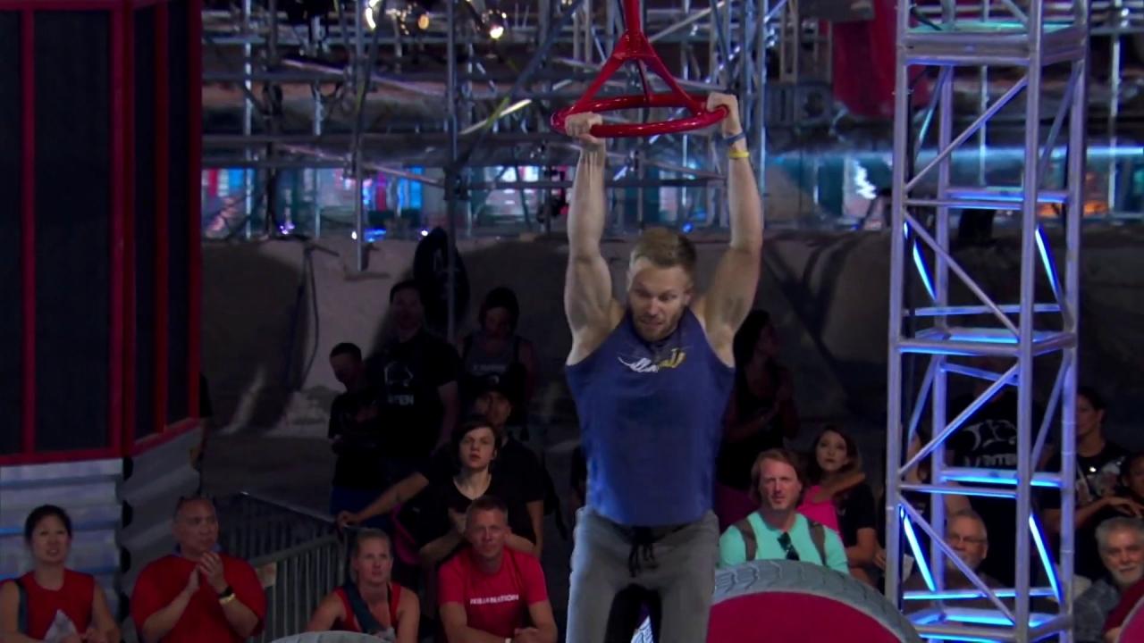 American Ninja Warrior: Nate Burkhalter Lights Up Stage 1