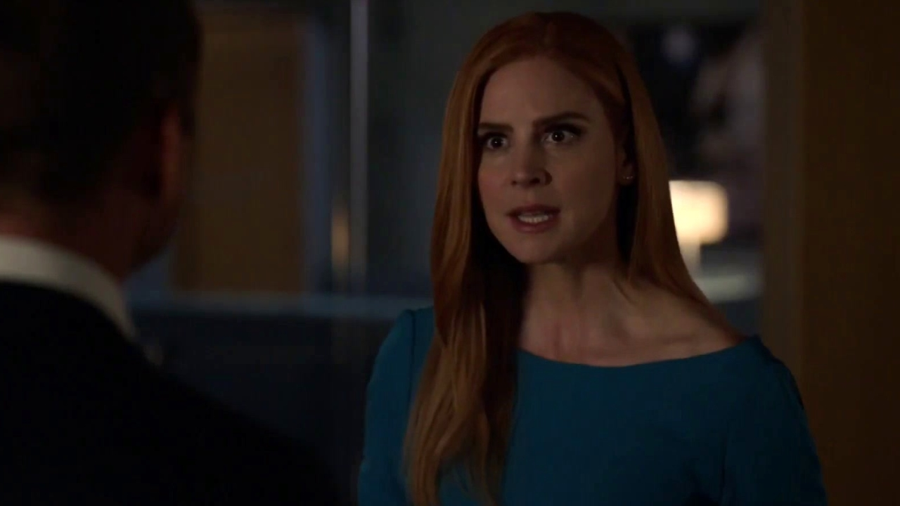 Suits: Donna Takes The Weight Off Harvey's Shoulders