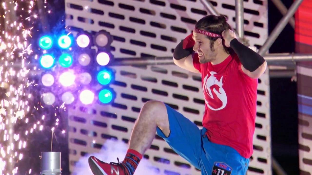 American Ninja Warrior: Ethan Swanson Takes Flight On Stage 1