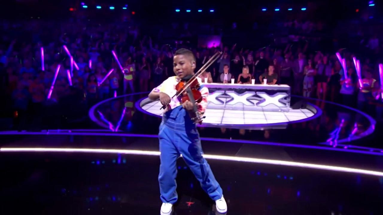 America's Got Talent: Tyler Butler-Figueroa Performs Break Free With Fellow Cancer Survivors