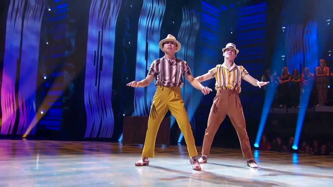 So You Think You Can Dance: Bailey & Gino Perform To The Girl From Ipanema