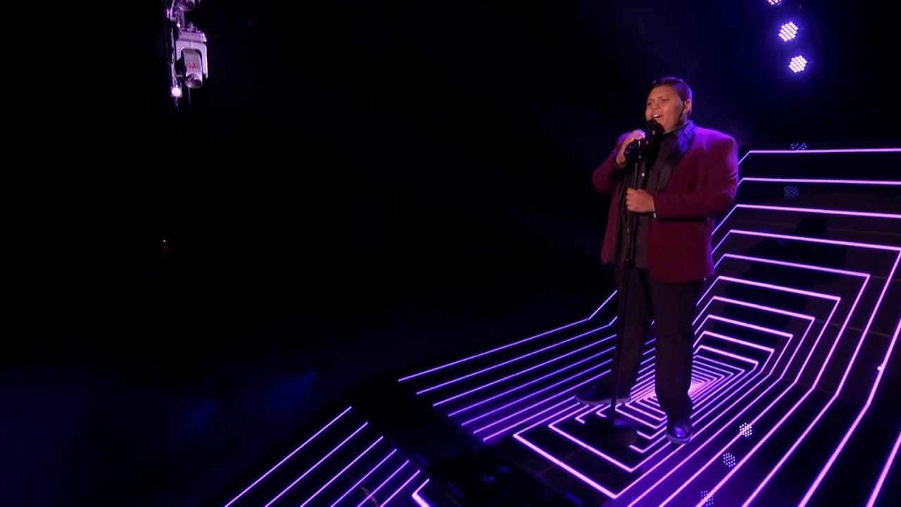 America's Got Talent: Luke Islam Slays Never Enough