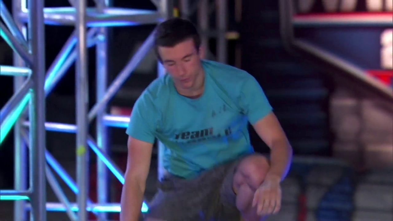 American Ninja Warrior: Lucas Reale Gives His Everything On Stage 3