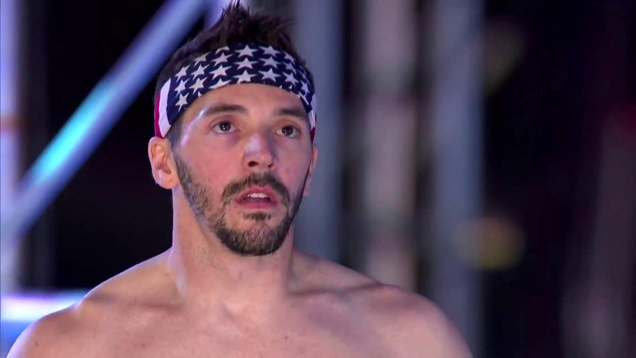 American Ninja Warrior: Drew Drechsel's Electrifying Stage 3 Run