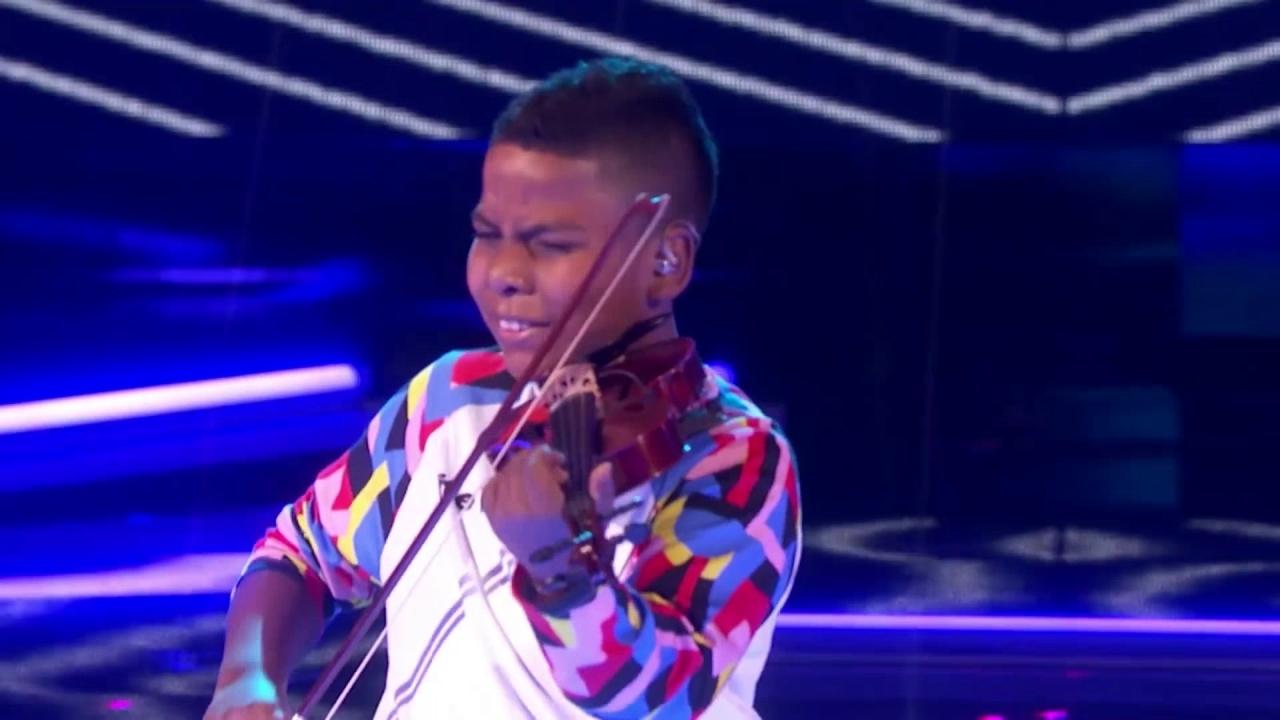 America's Got Talent: Violinist Tyler Butler-Figueroa Performs Survivor