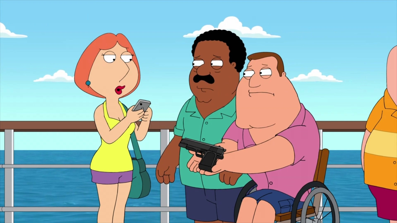 Family Guy: Peter Brings His Family On A Guys Trip
