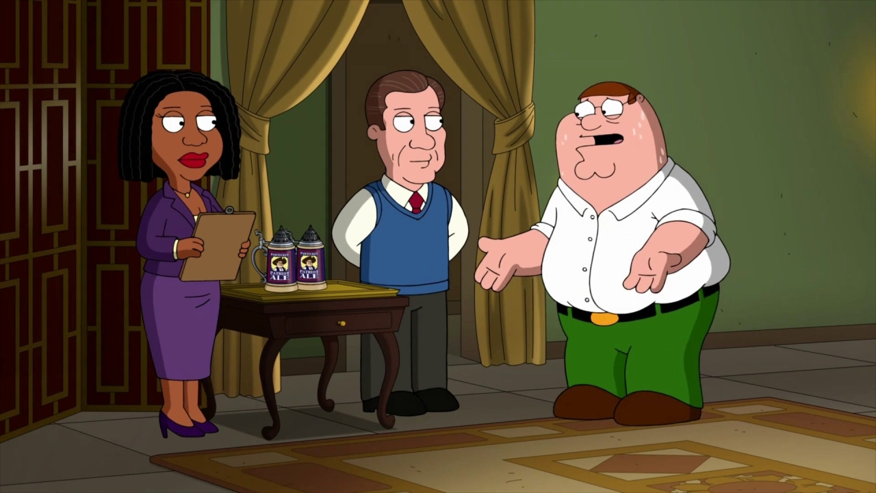 Family Guy: Peter Has A Panic Attack