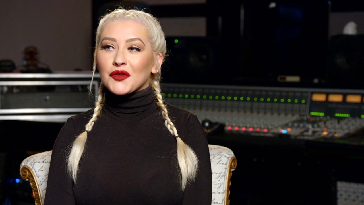 The Addams Family: Christina Aguilera On Her Love For The Addams Family