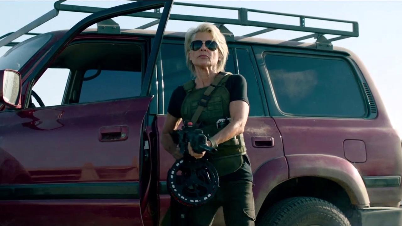 Terminator: Dark Fate: Sarah Connor (Character Featurette)