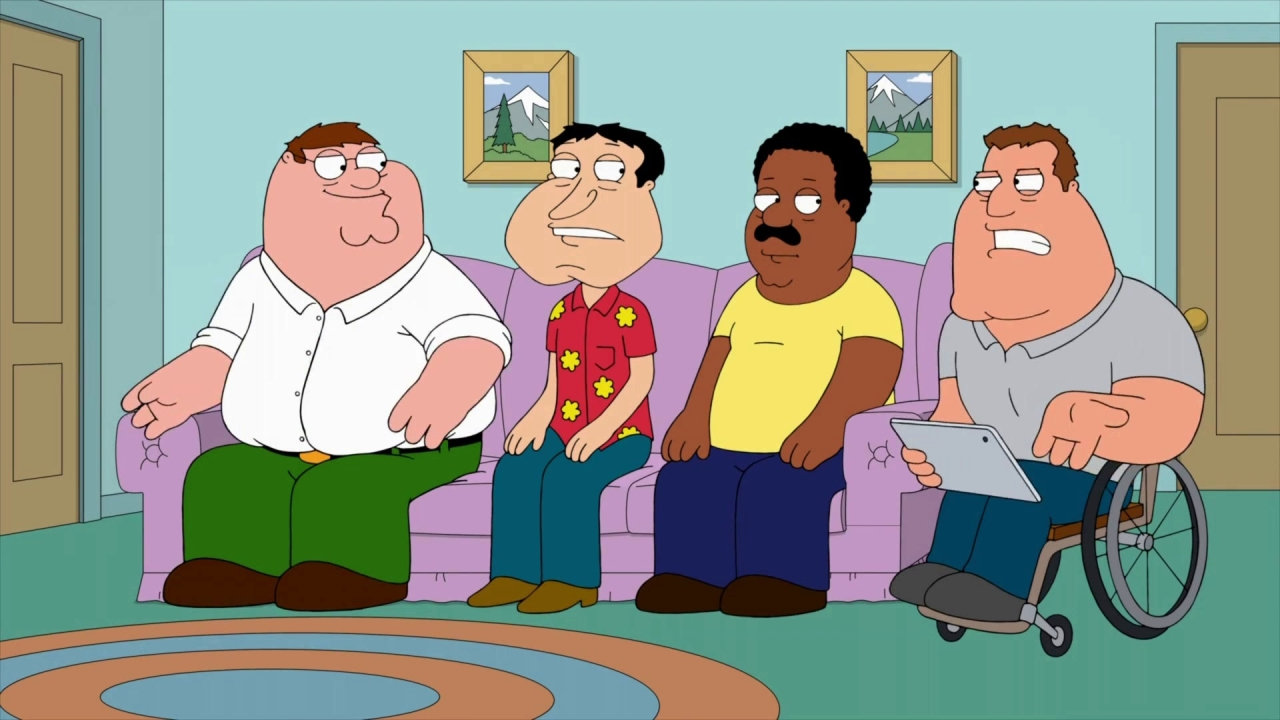 Family Guy: The Guys Watch Their Body Cam Footage