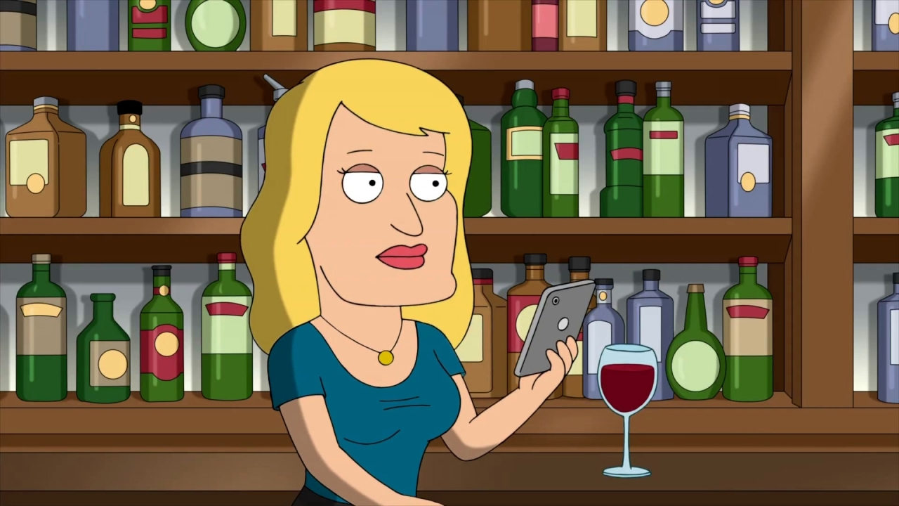 Family Guy: Brian Meets Ida At The Bar