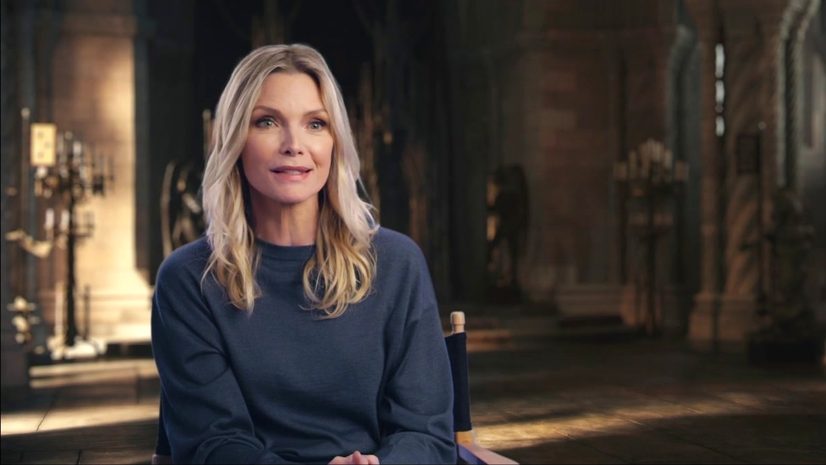 Maleficent: Mistress Of Evil: Michelle Pfeiffer On The Themes Of The Film (Good And Evil)