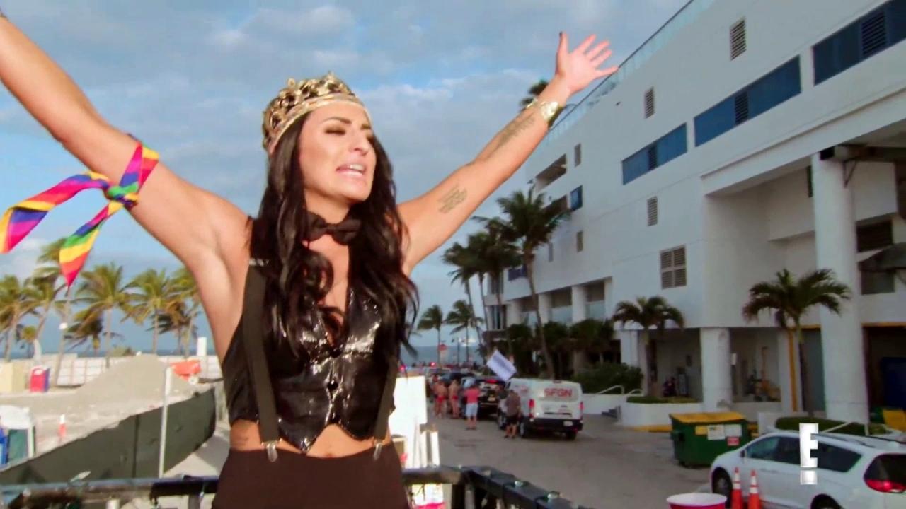 Total Divas: Sonya Deville Flies Her Rainbow Flag With Pride Float