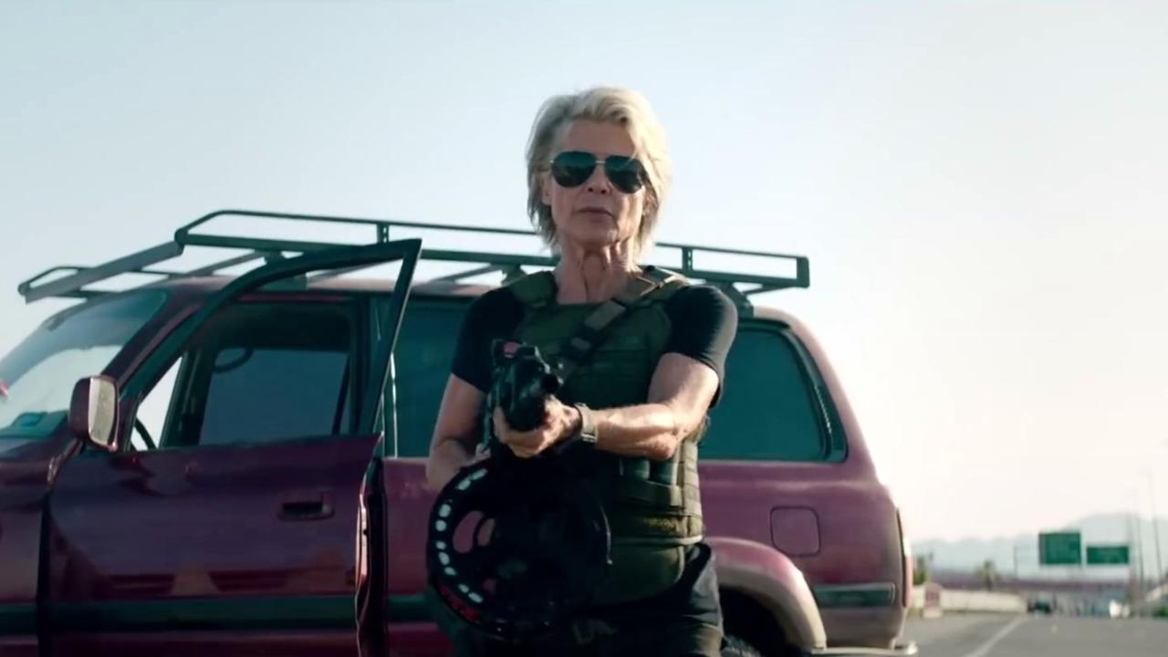 Terminator: Dark Fate: Sarah's Entrance
