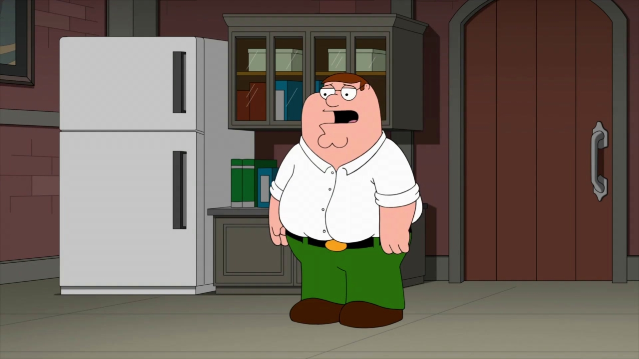 Family Guy: Peter & Babs Bond In The Garage Over Beers