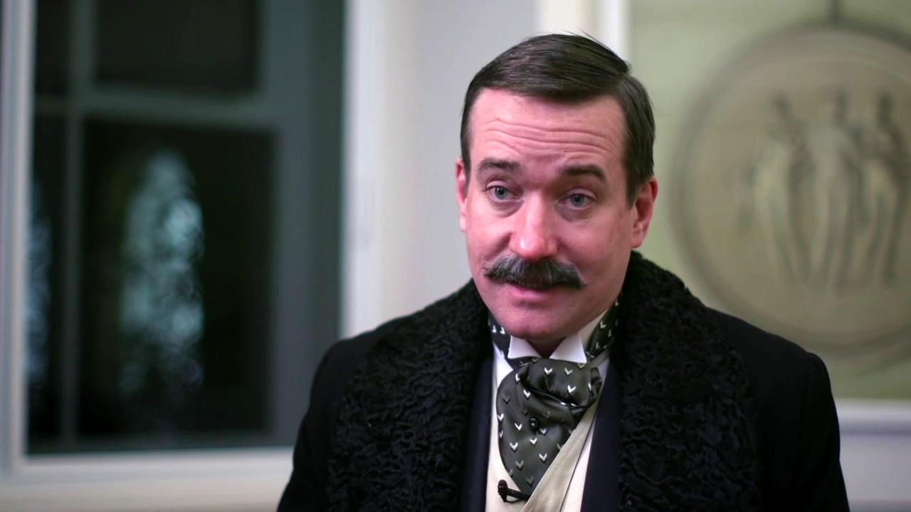 The Current War: Director's Cut: Matthew Macfadyen On J.P. Morgan