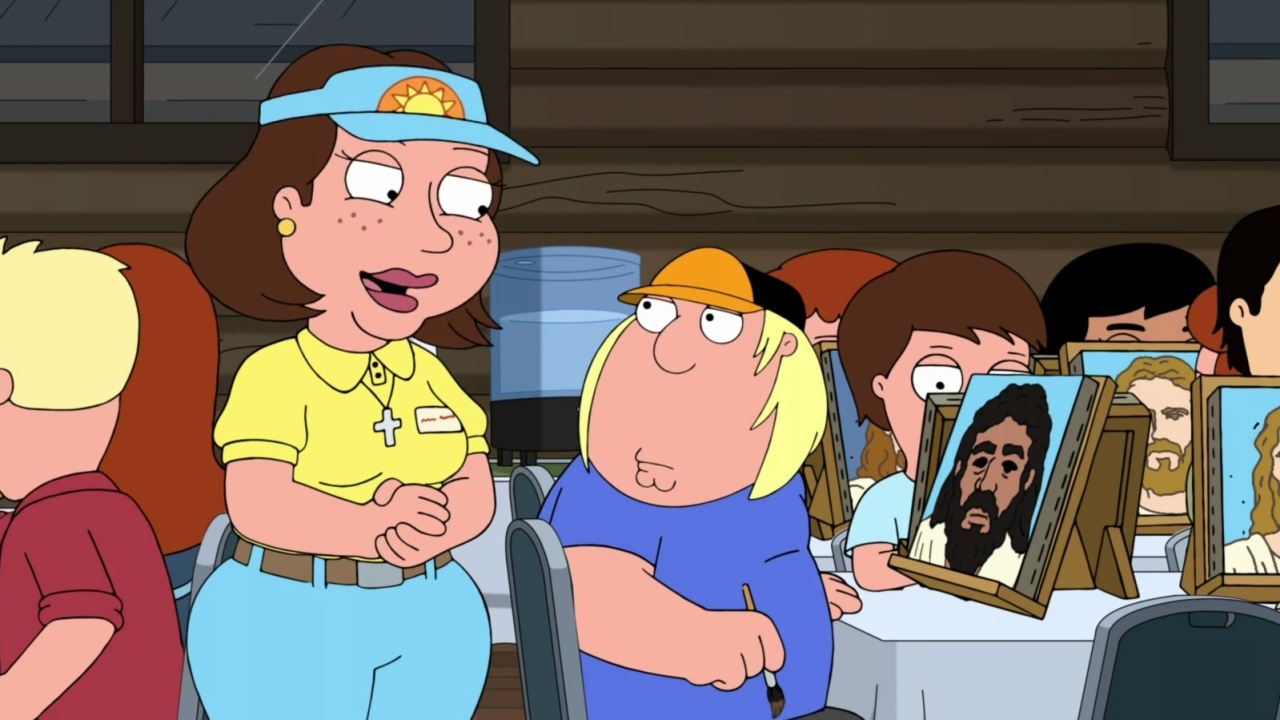 Family Guy: Chris, Lois, & Meg Go To Christian Camp