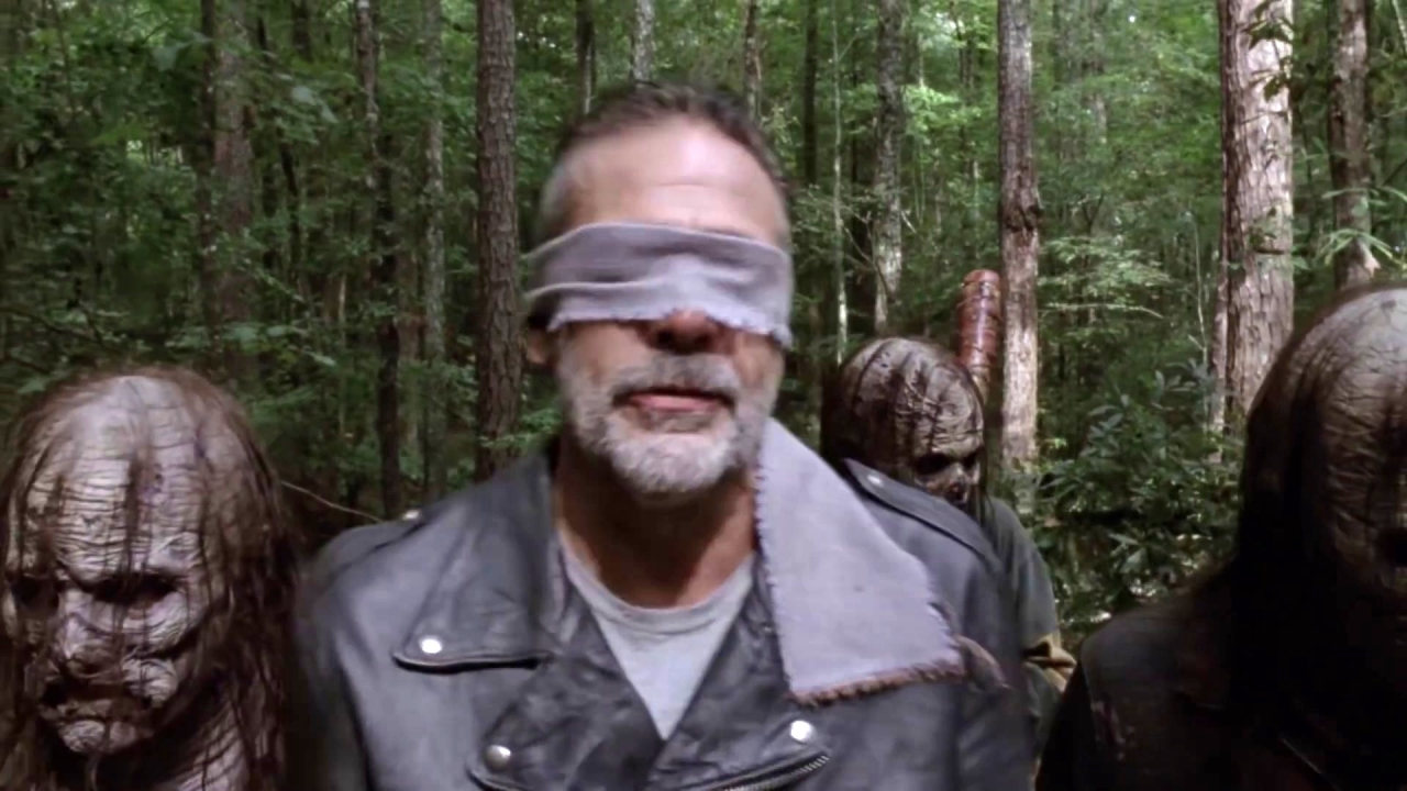 The Walking Dead: Negan Pisses Off The Whisperers