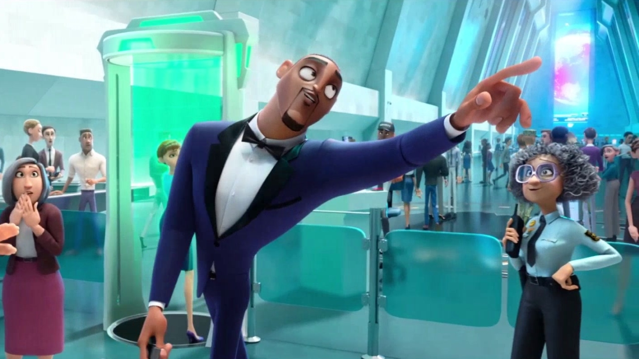 Spies In Disguise: Entrance