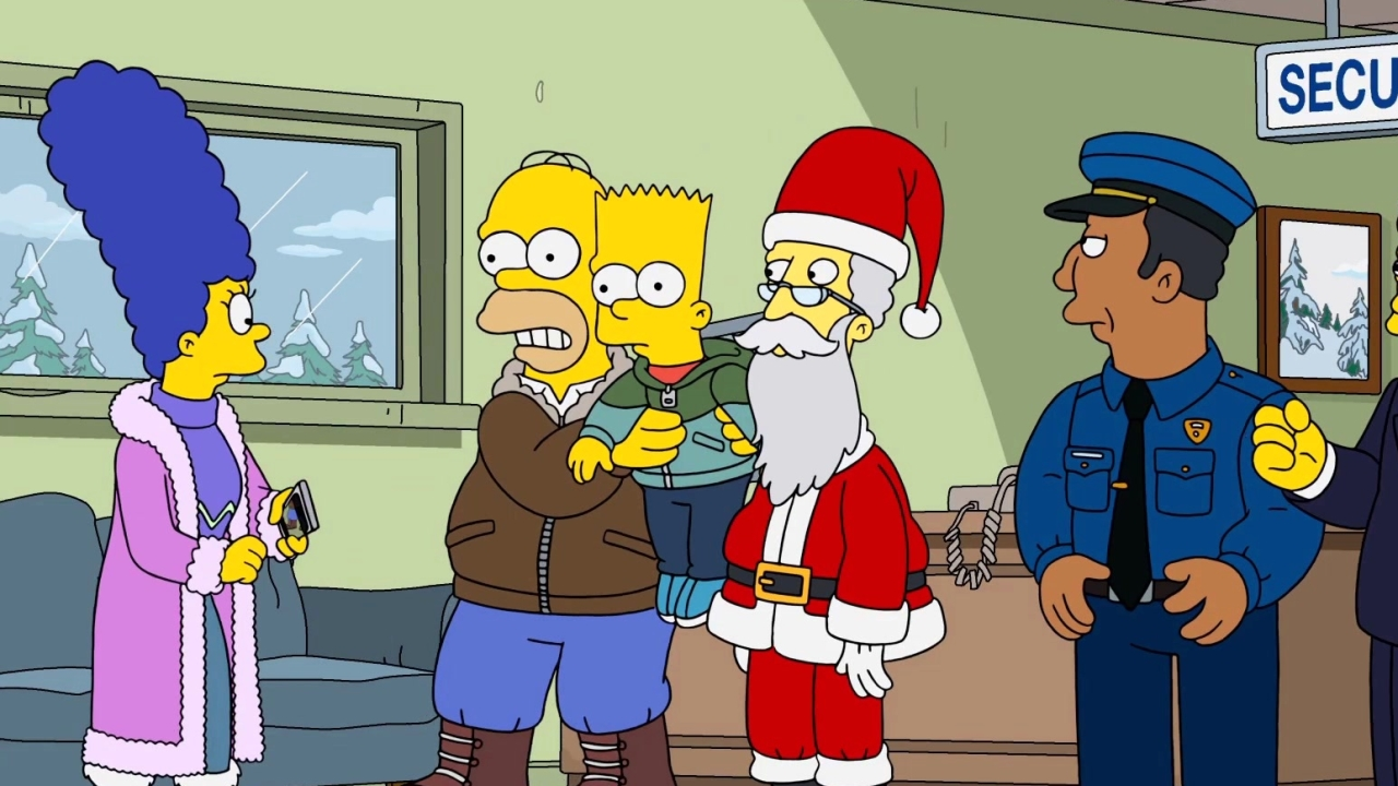 The Simpsons: Bobby: It's Cold Outside