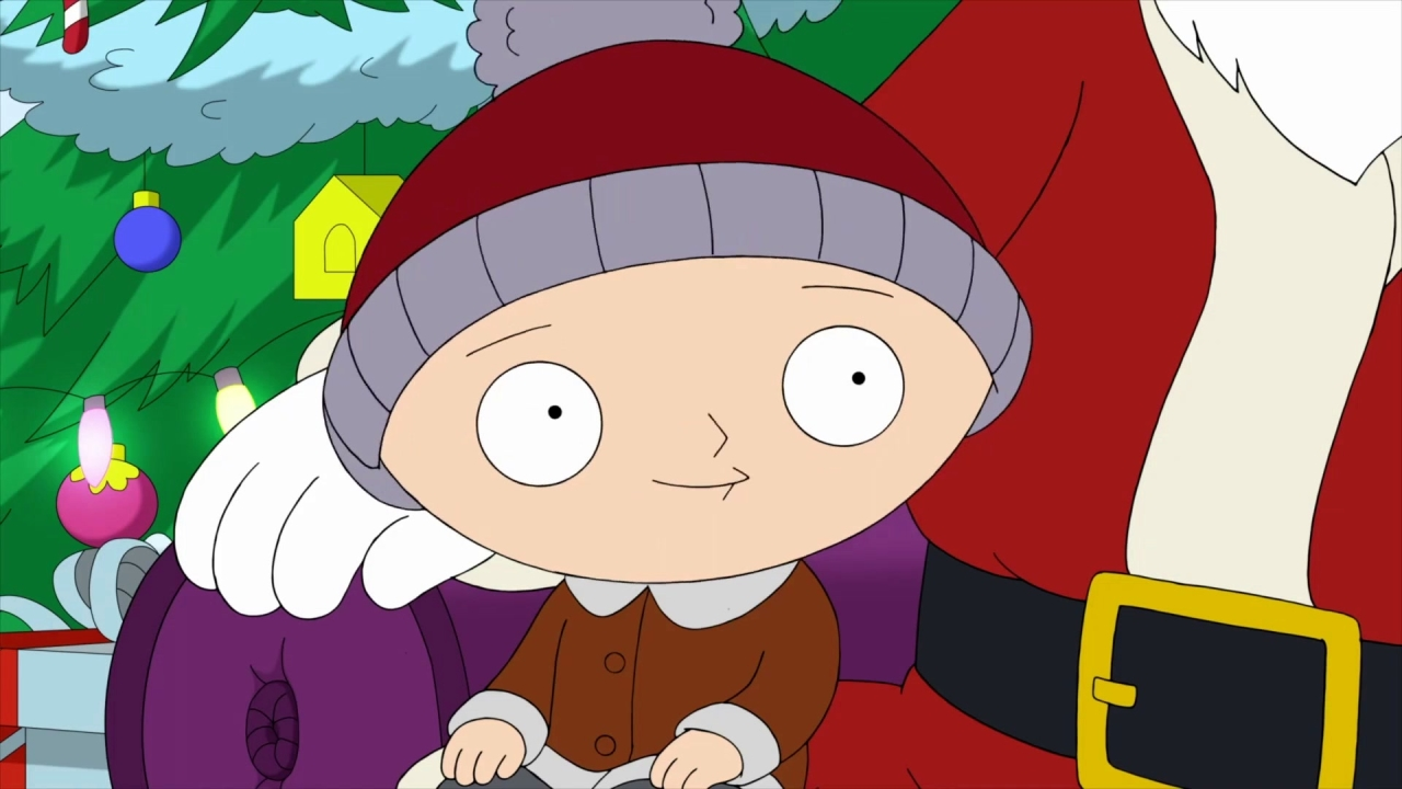 Family Guy: Stewie Is Afraid Of The Mall Santa