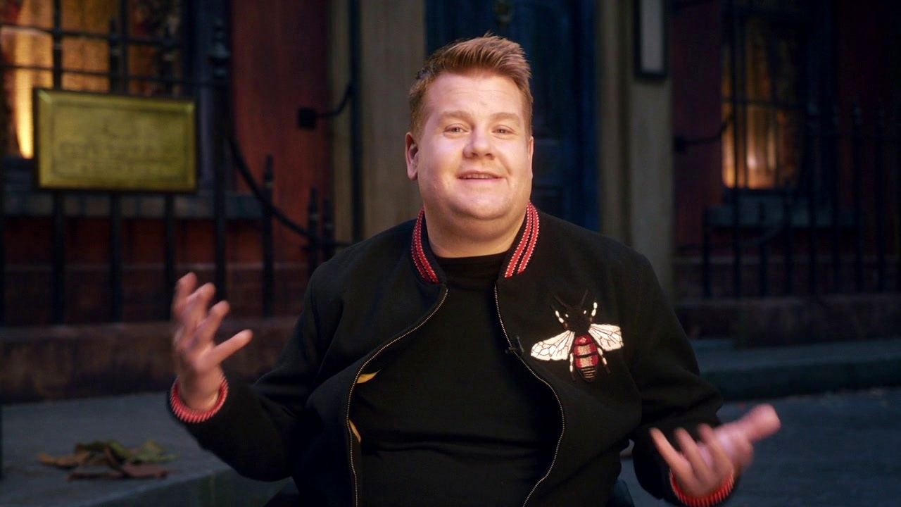 Cats: James Corden On Bustopher Jones