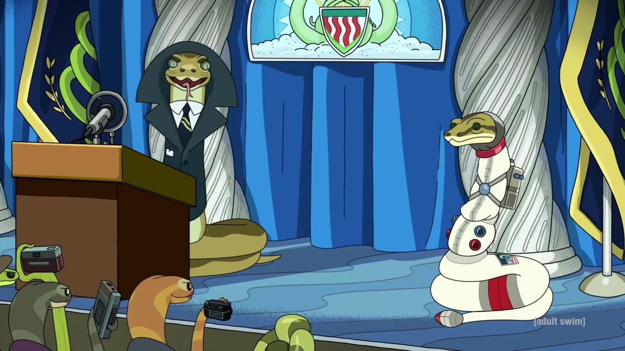 Rick and Morty: Rattlestar Ricklactica