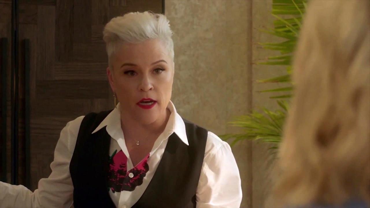 Bh90210: Christine Tells Tori She Has To Fire The Writer