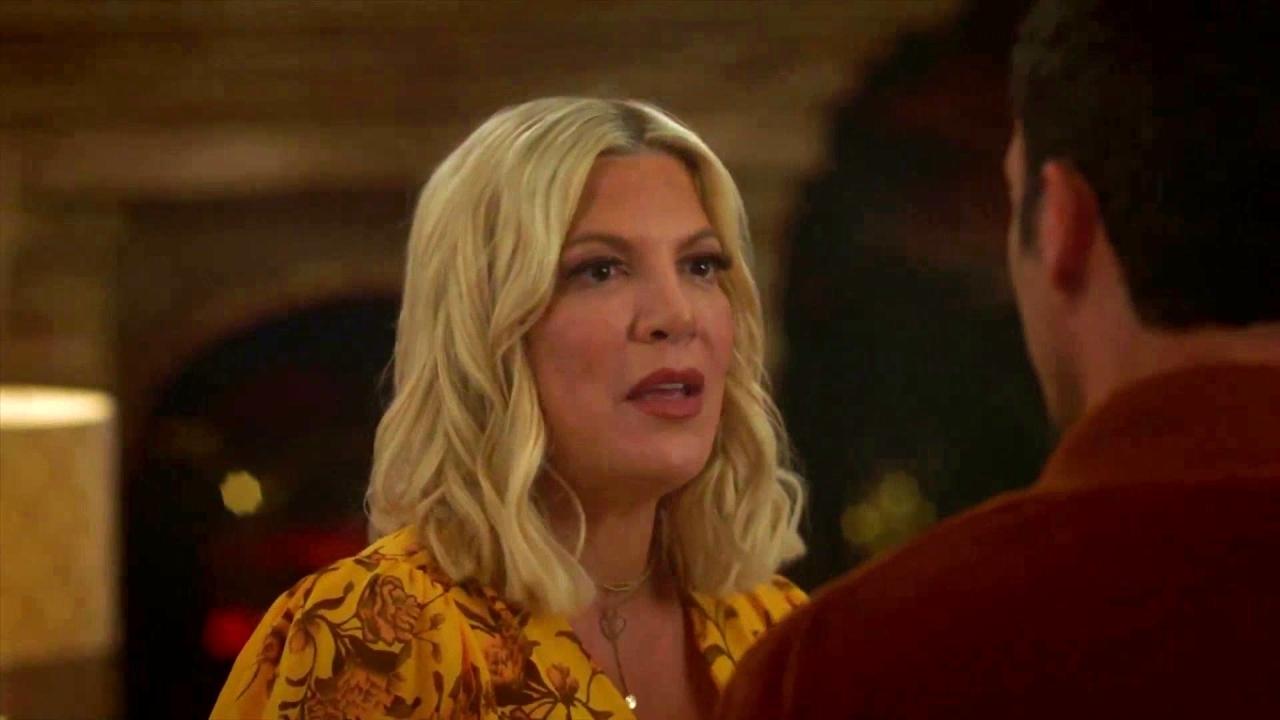 Bh90210: Brian Gives Tori A Pep Talk