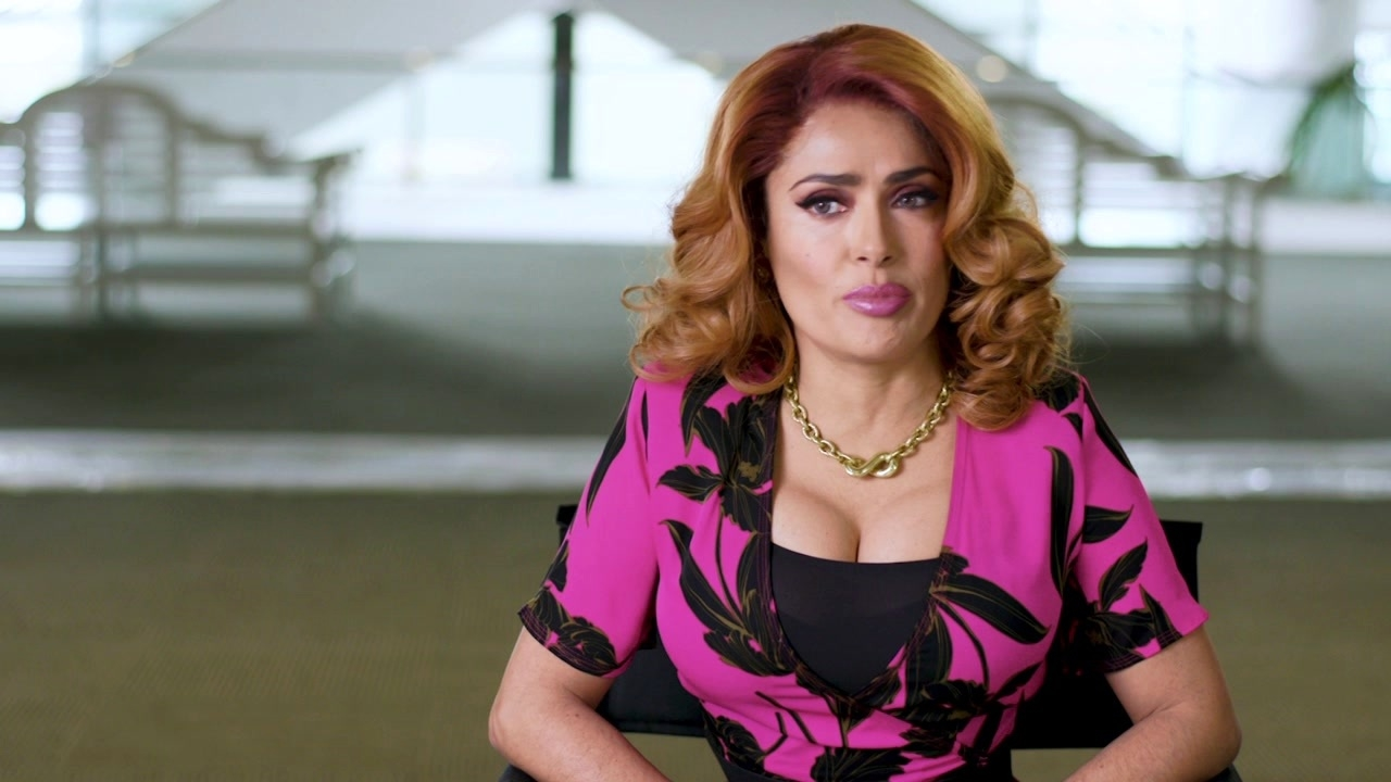 Like A Boss: Salma Hayek On Her Character 'Claire Luna'
