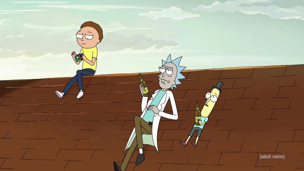Rick and Morty: Rooftop Lamentations
