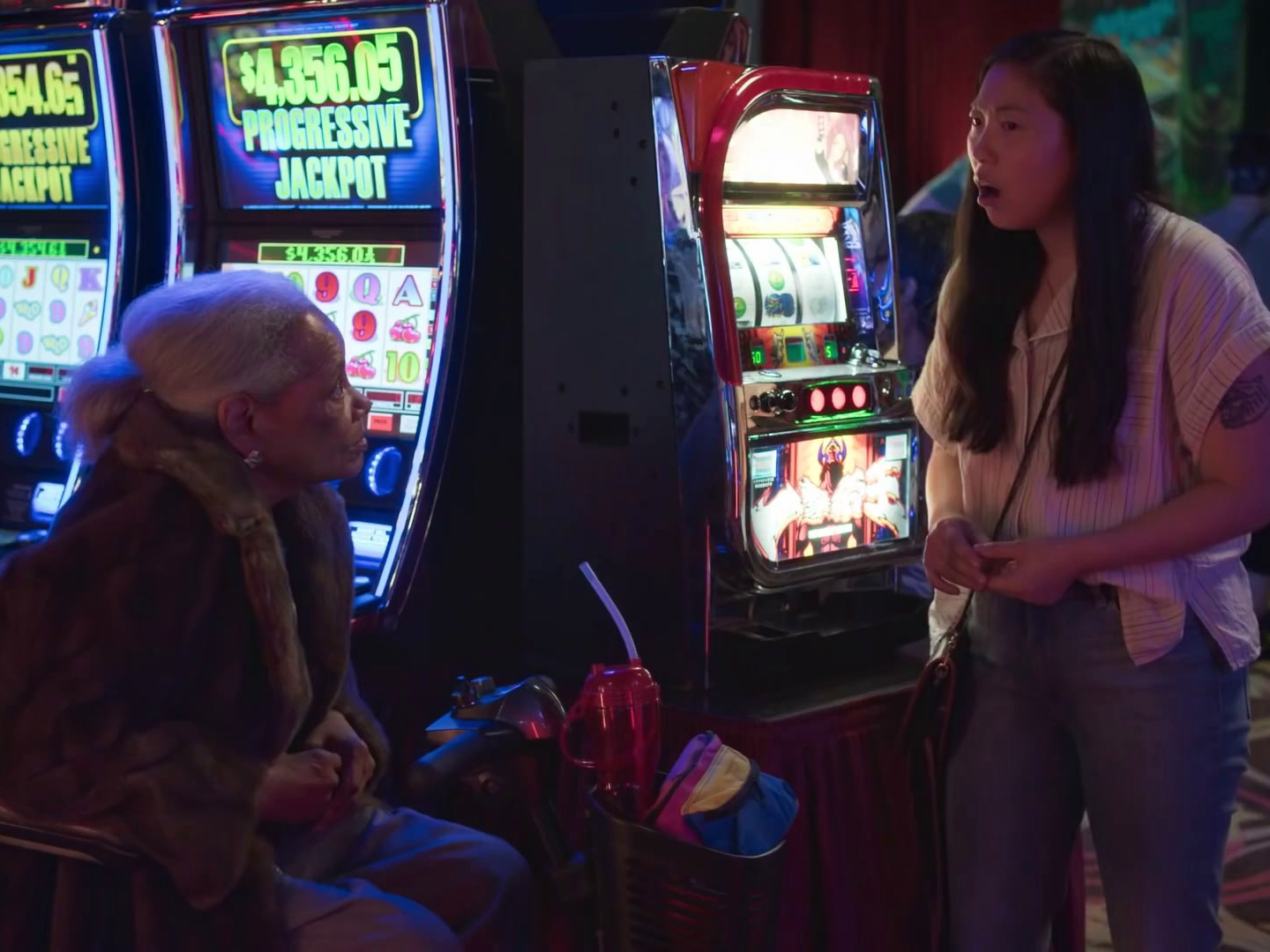 Awkwafina is Nora from Queens: Wait, Drinks Are Free at a Casino