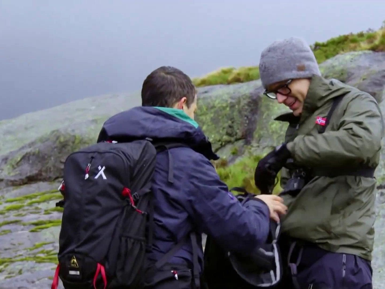 Running Wild with Bear Grylls: Bobby Bones in Norway Fjords