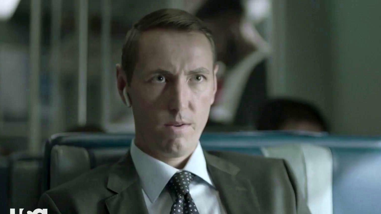 The Sinner: Jamie Intimidates A Train Passenger