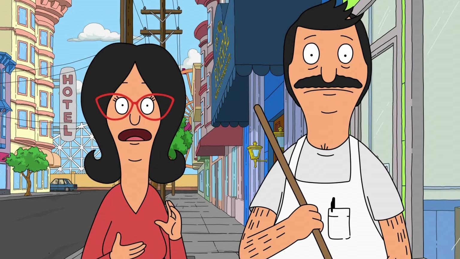 Bob's Burgers: Bob & Linda Meet Rick From The Gym