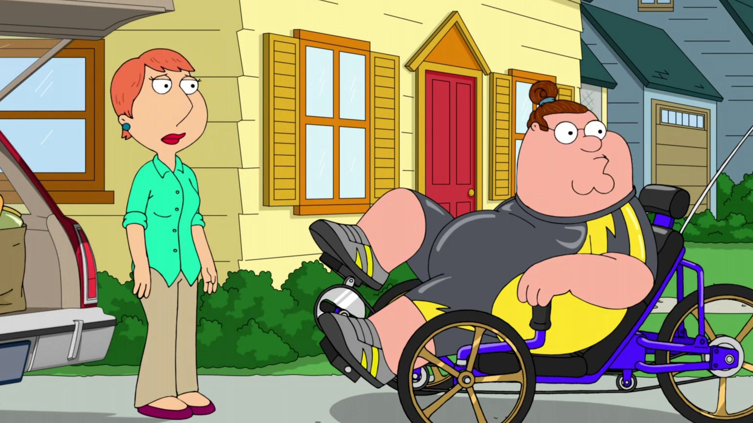 Family Guy: Peter Debuts His New Look