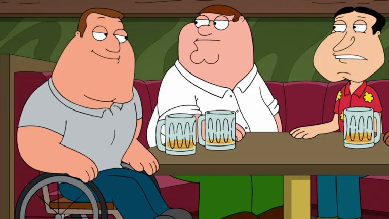 Family Guy: Peter Can't Pay For His Beer