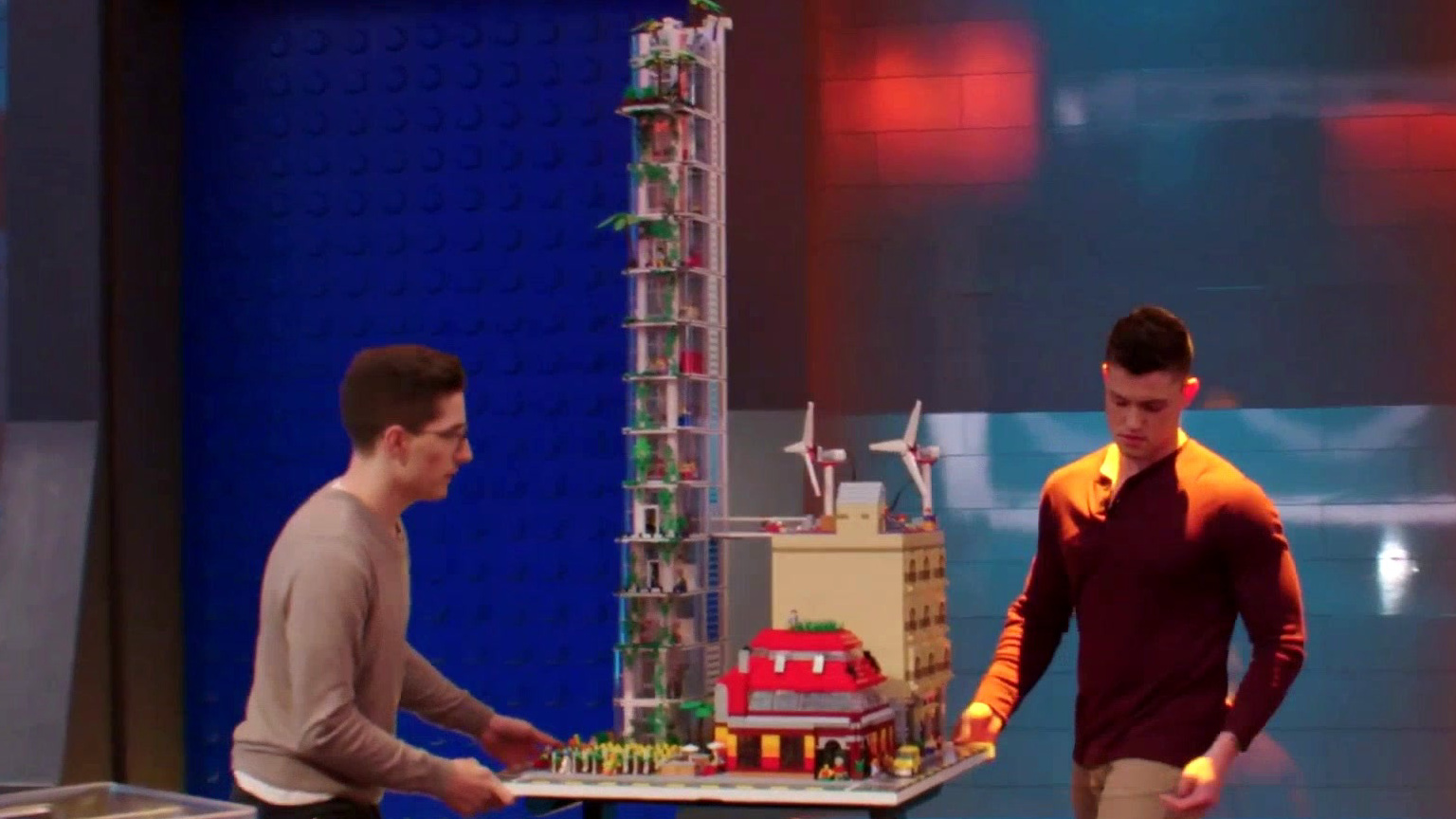Lego Masters: Aaron & Christian's Build Takes A Terrible Tumble