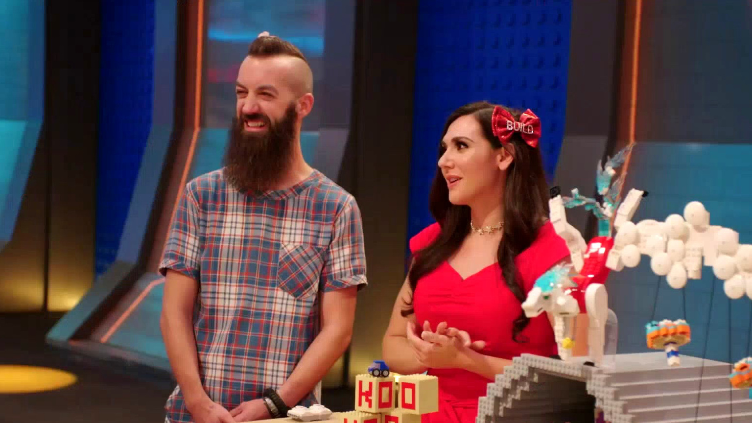 Lego Masters: The Judges Are Impressed With Sam & Jessica