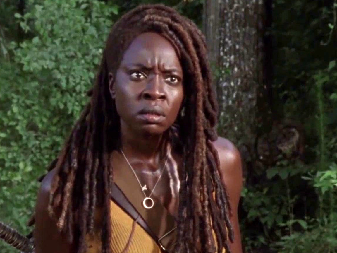 The Walking Dead: Virgil Asks Michonne A Favor