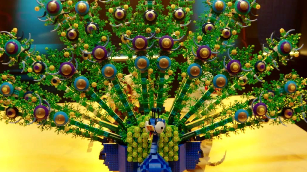 Lego Masters: Sam & Jessica's Final Build: The Peacock & The Monkey