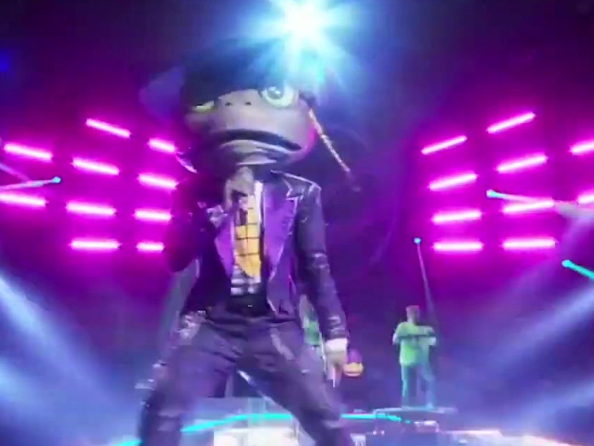 The Masked Singer: Frog Performs Jump By Kris Kross