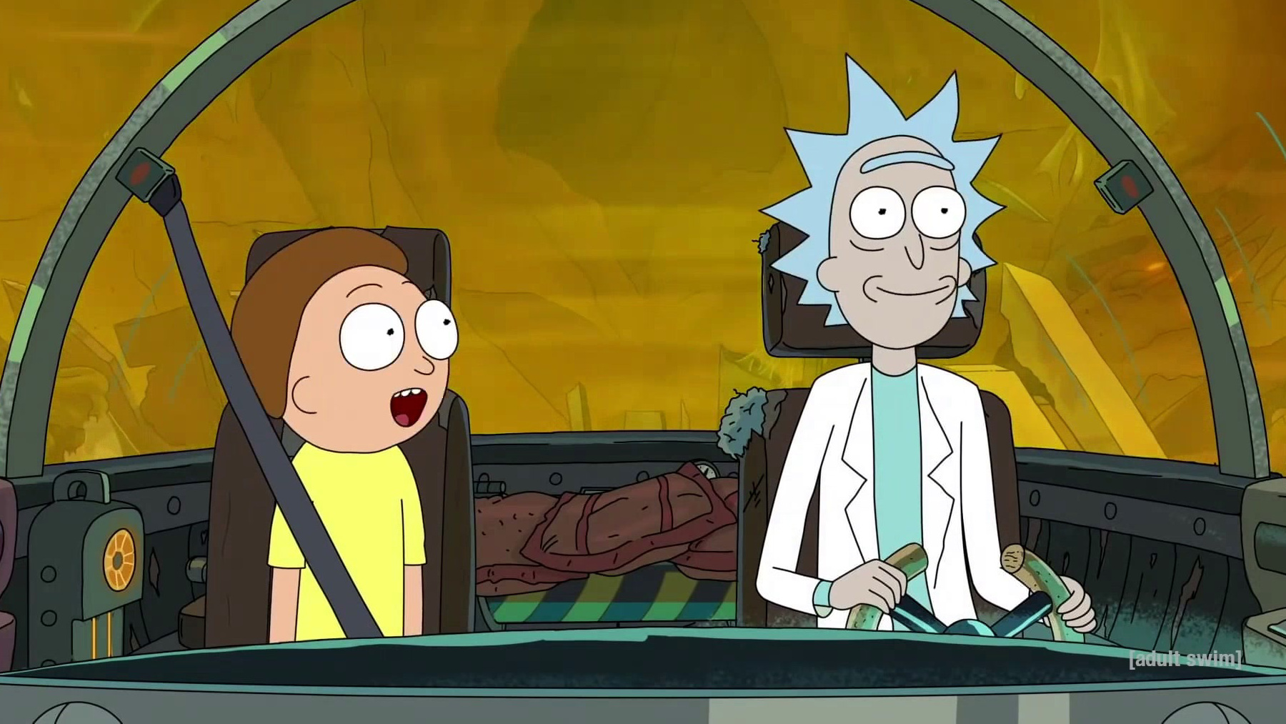 Rick and Morty: Just Like Star Wars