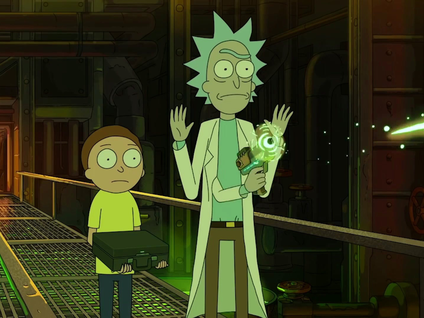 Rick and Morty: The Vat of Acid Episode