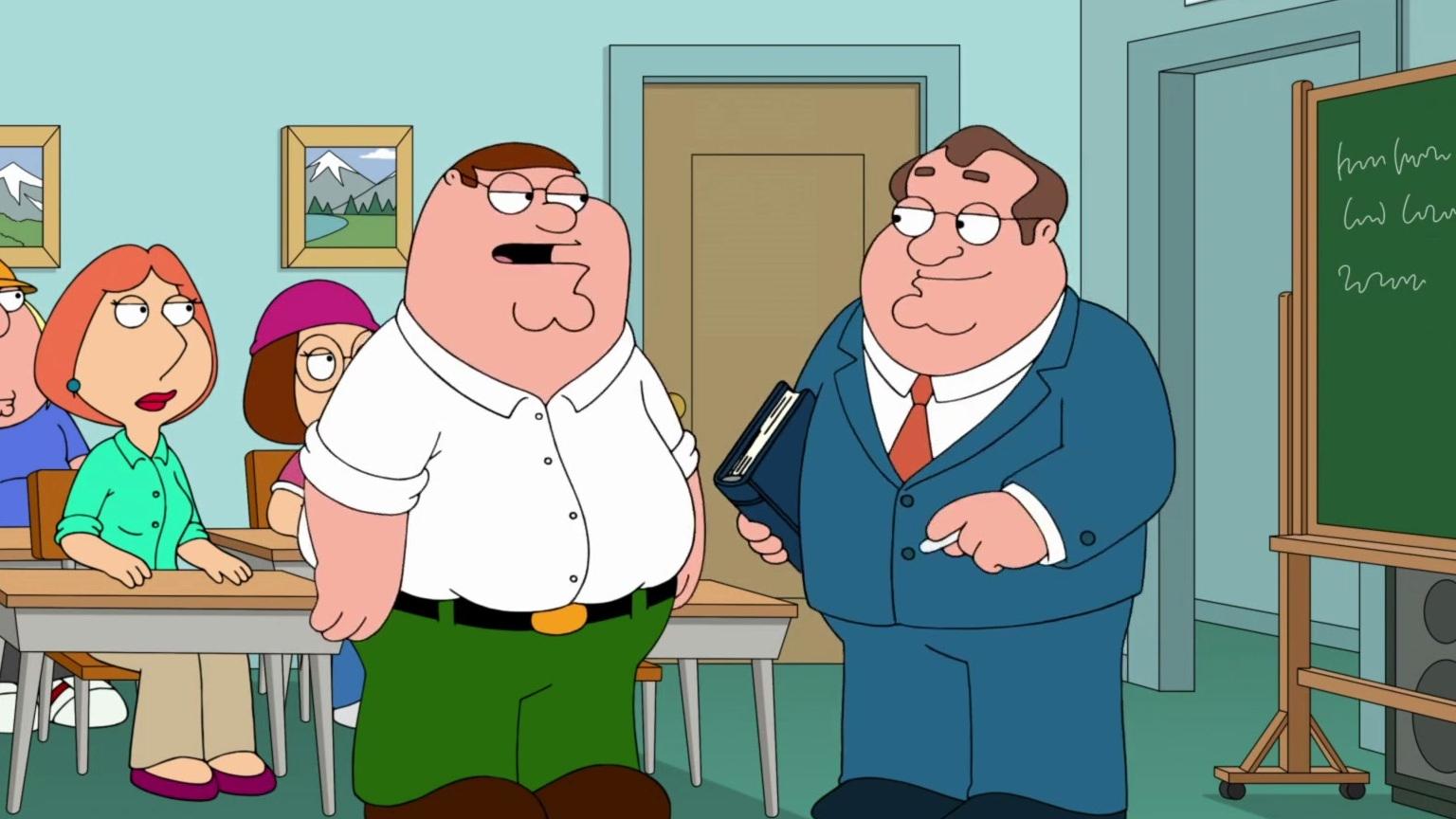 Family Guy: Movin' In (Principal Shepherd's Song)