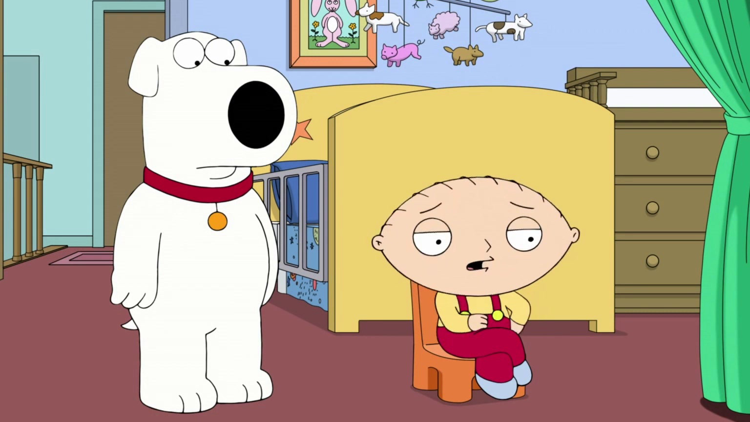 Family Guy: Brian Visits Stewie At The Opera